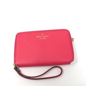 KATE SPADE | Cherry Lane Louie Wristlet Wallet